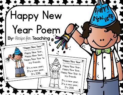 https://www.teacherspayteachers.com/Product/Happy-New-Year-Poem-2265912