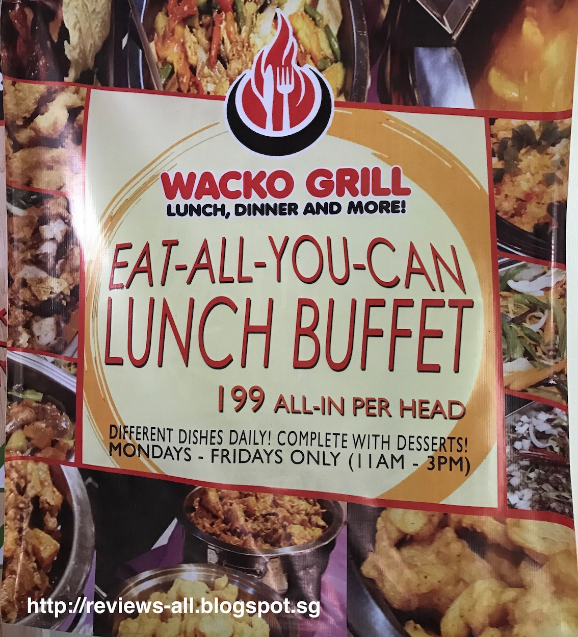 we ll tell you a w couple s blog wacko grill restaurant at rh reviews all blogspot com