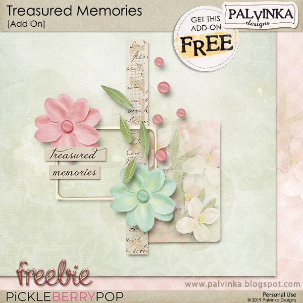 New Berry Big Deal - Treasured Memories Collection and Freebie