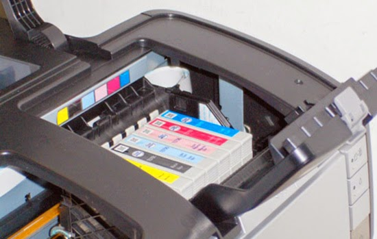 epson stylus photo 1400 clean print head