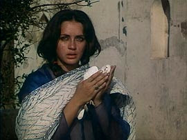 Nafisa Ali as Ruth Labador in Shyam Benegal's Junoon