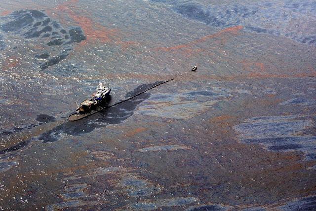 تسرب النفط في خليج المكسيك