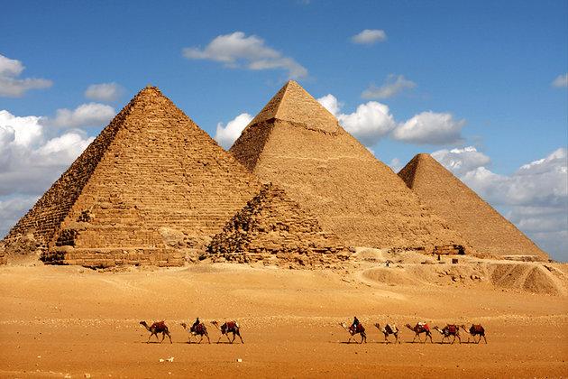Keops Piramidinde Bulunan Gizli Odalar