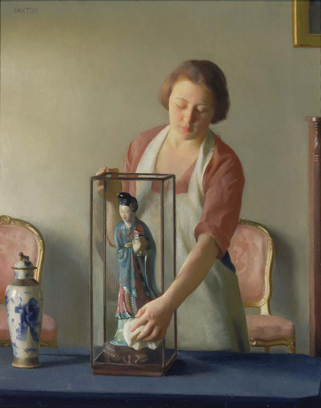 19th century American Paintings: William McGregor Paxton