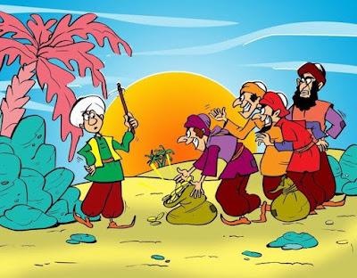 Humor Sufi : Kisah Abu Nawas,Abu Nawas Berubah Jadi Garang