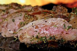 bbq butterflied lamb leg bone recipe