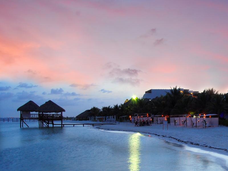 Explore The Beauty Of Caribbean: Group Catamaran Sunset Dinner Cruise Rental Playa Del