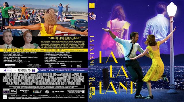 La La Land 4k Bluray Cover