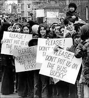 Boston busing protest, 1970s