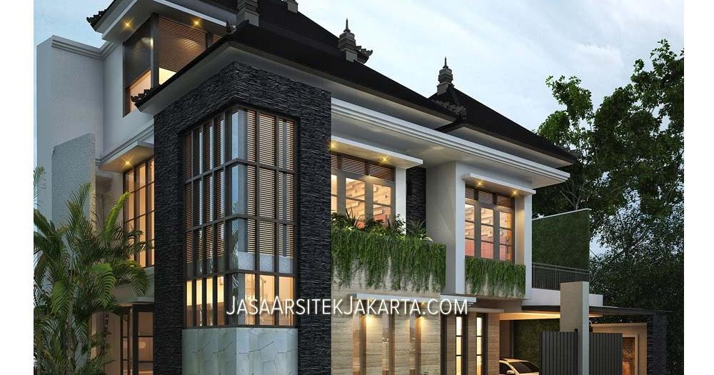 desain rumah luas 150 m2 bapak wuri jakarta jasa arsitek
