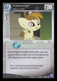 My Little Pony Featherweight, Editor-in-Chief Premiere CCG Card
