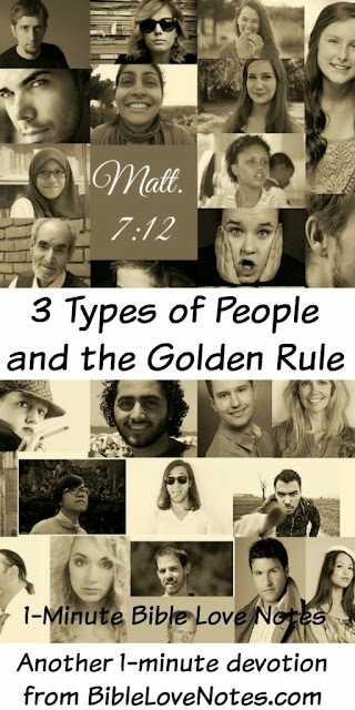 Matthew 7:12, Golden Rule, Prickly People, Perspective, 3 Types of People