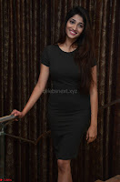 Priya Vadlamani super cute in tight brown dress at Stone Media Films production No 1 movie announcement 047.jpg