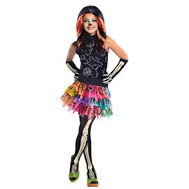 Monster High Rubie's Skelita Calaveras Outfit Child Costume