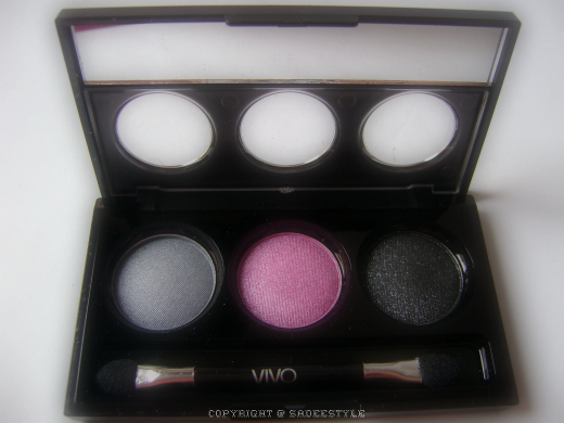 VIVO Trio Eyeshadow Palette Be-Dazzle