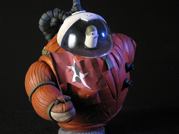 Geek Art Sculpture Cosmonaut