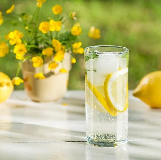 Infuse Water Lemon for Health
