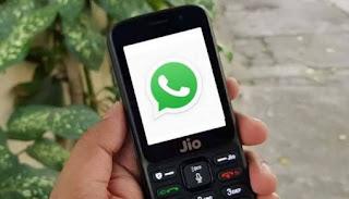 WhatsApp on Jio phone