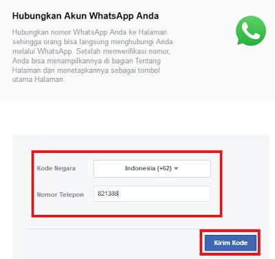 cara menambahkan tombol whatsapp pada facebook fanspage