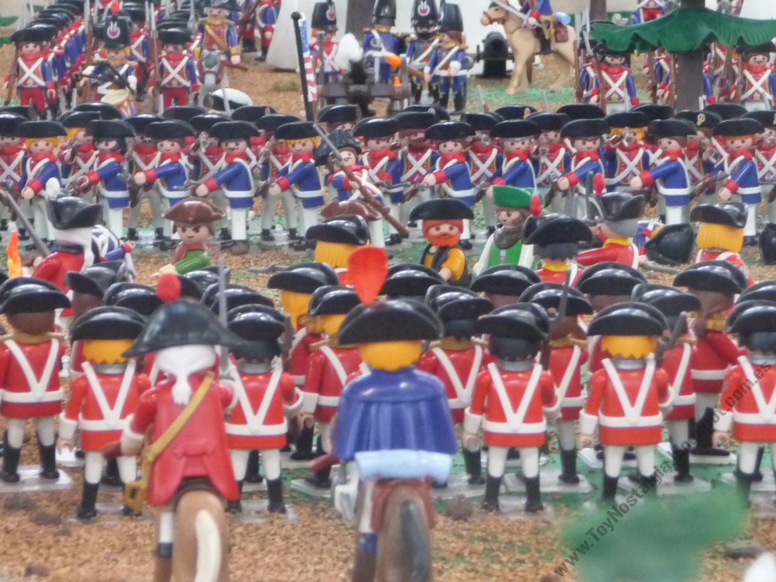 Diorama Playmobil Militar Militaria