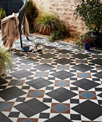 david dangerous: affordable victorian bathroom tiles