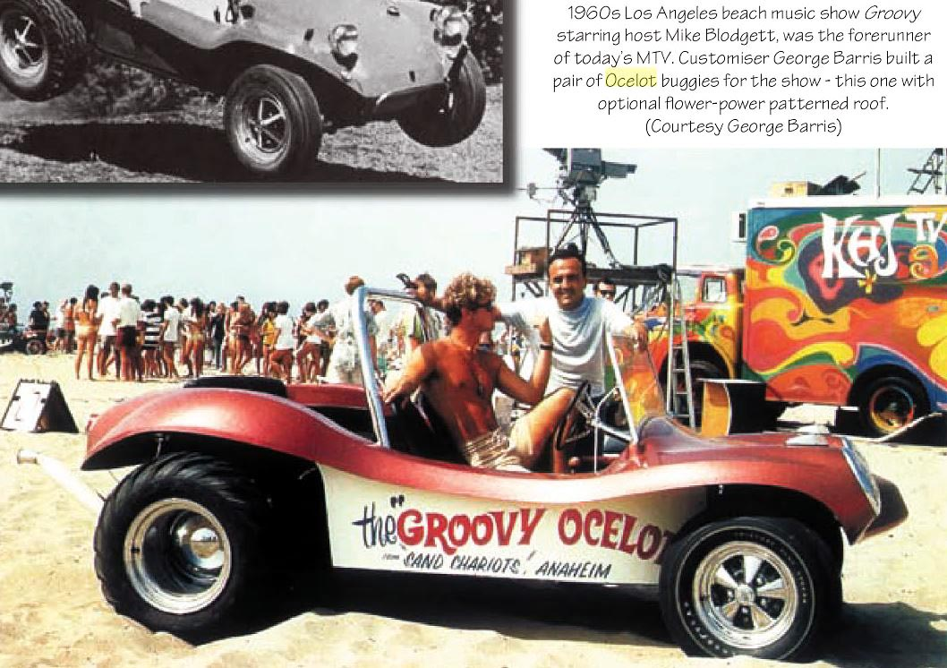 Just A Car Guy: Barris and a dune buggy called the Groovy