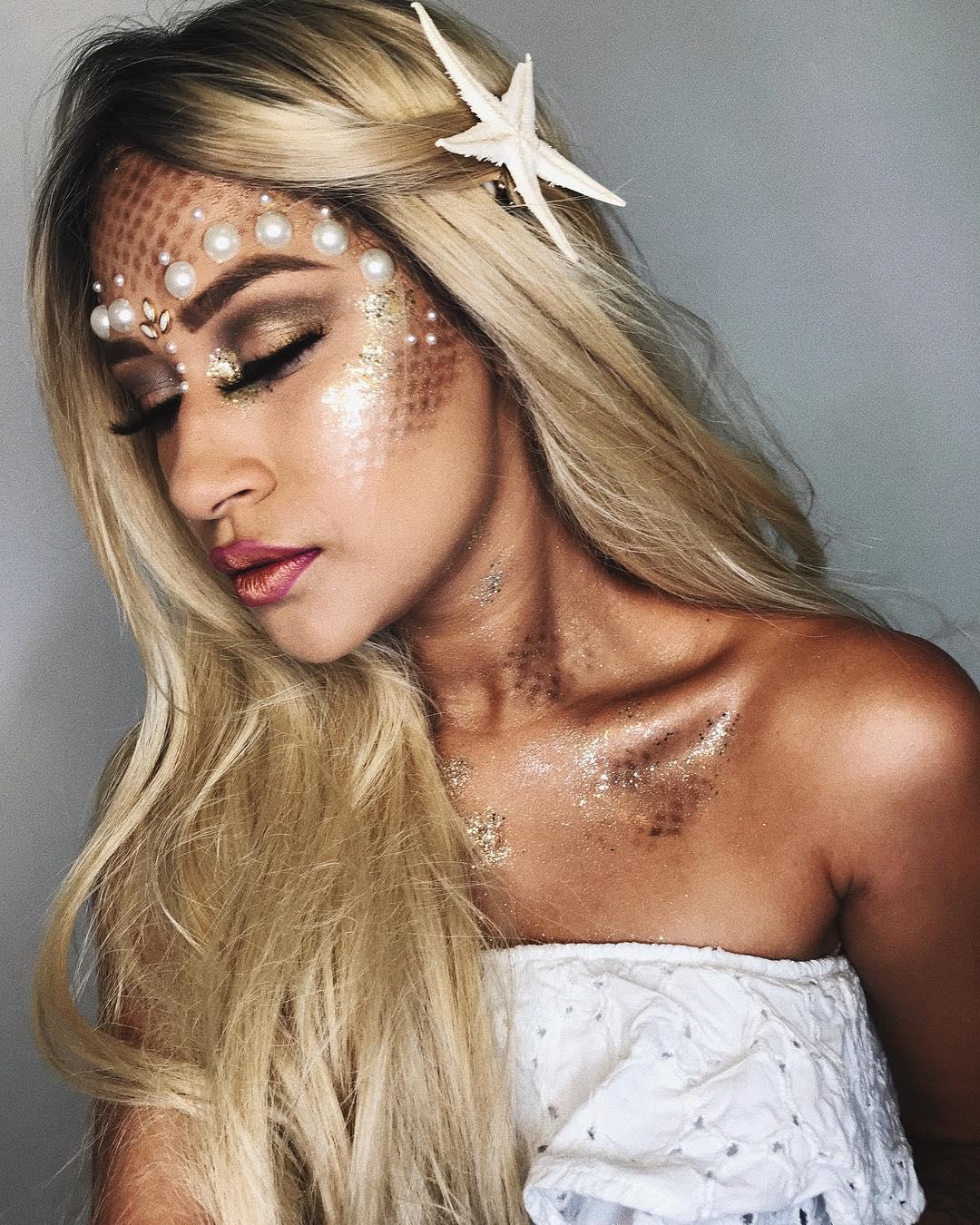 Maquiagem sereia para o carnaval 2018
