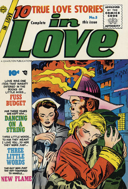 Kirby In Love Charlton Comics
