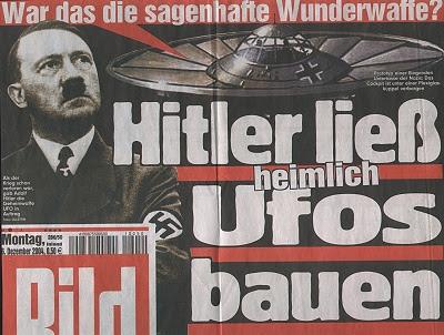 """Язон Масон - Модель """"Haunebu"""" фирмы """"Revell"""" стала бестселлером благодаря негативному освещению со стороны СМИ! Существовали ли эти немецкие летательные дисковые аппараты на самом деле? Bild%2BHitler"""