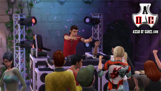 The Sims 4 Get Together Addon PC Game