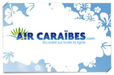 Logo Air Caraiabes: du soleil sur toute la ligne