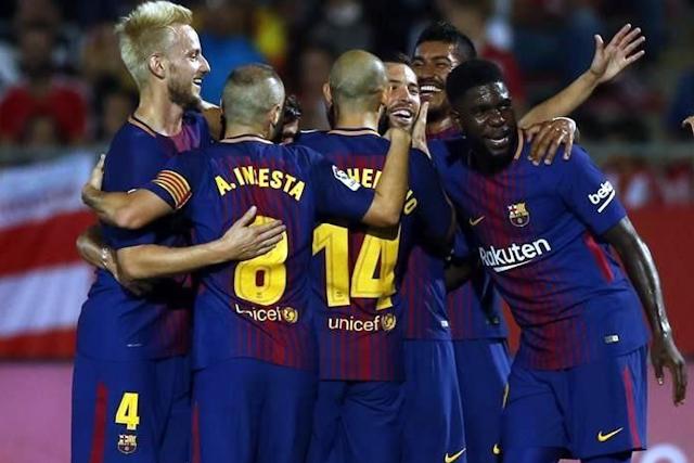 El Barcelona mantiene el paso perfecto tras vencer de visita a  Girona