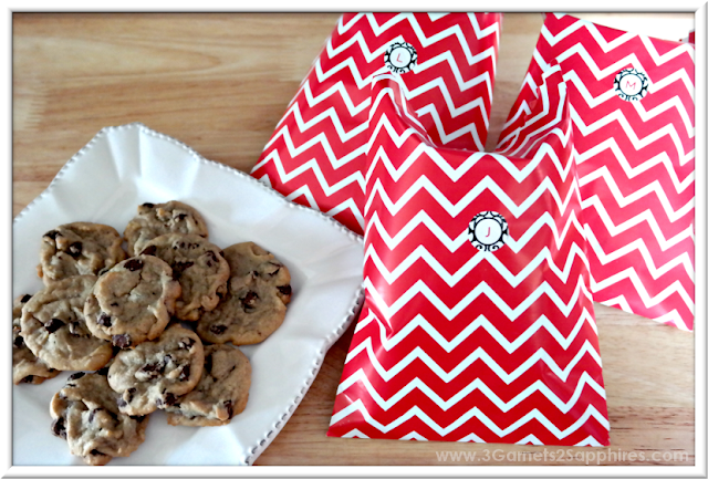 Homemade Road Trip Treats with Monogrammed Bags | 3 Garnets & 2 Sapphires