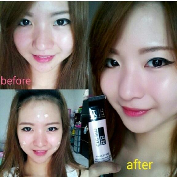 Putry Kosmetik Bedak Bb Cream Foundation
