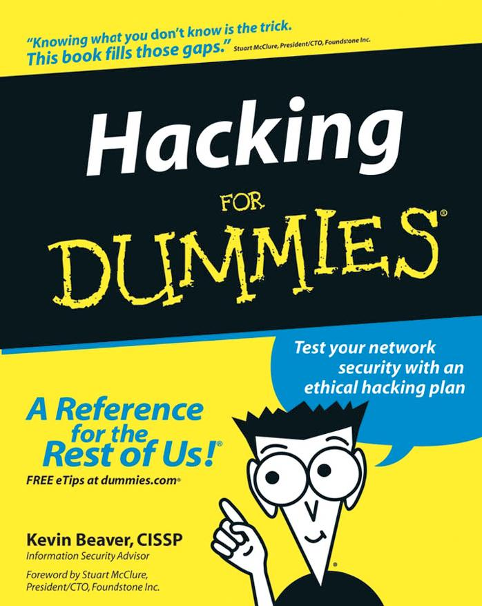 Hacking For Dummies – Kevin Beaver