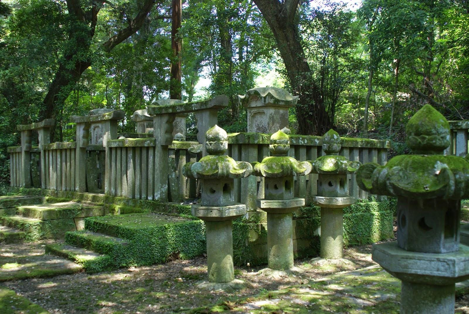 tombe daimyo Hagi city