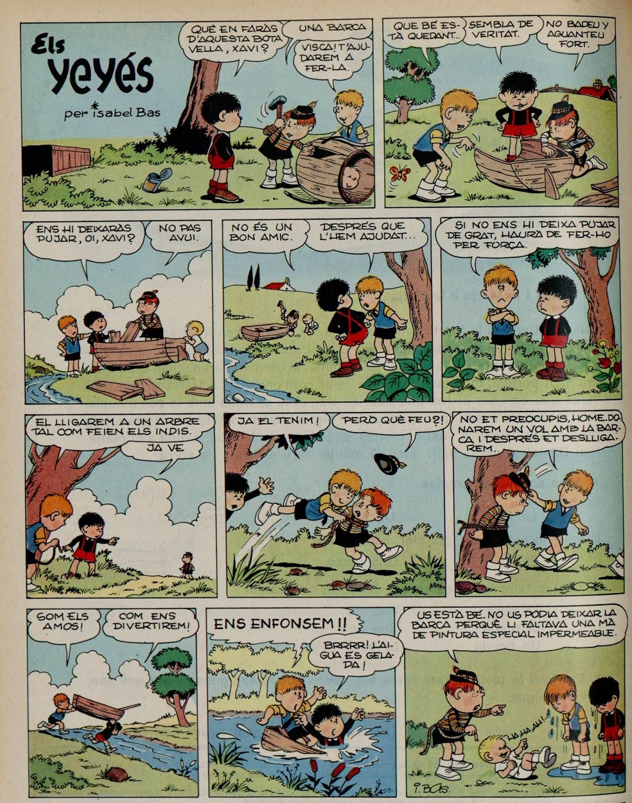Els Yeyés, L' Infantil Tretzevents nº 67