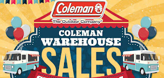 Coleman Warehouse Sale is here