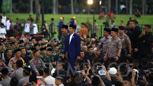 Heboh Video Jokowi Ditinggal Pasukan