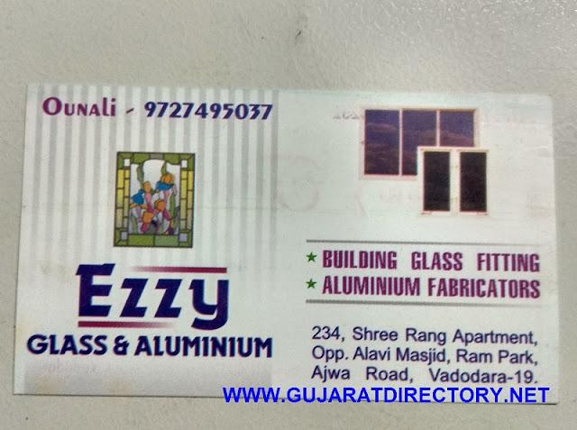 EZZY GLASS & ALUMINIUM - 9727495037 gujaratdirectory.net