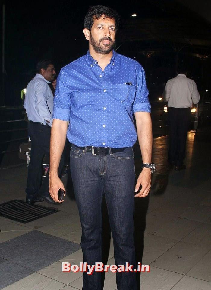 Kabir Khan, Bollywood Celebs at Airport to Attend Arpita Khan's Wedding