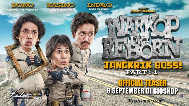 Free Donlowad Film Warkop DKI Reborn 2016 : Jangkrik Boss! Part 1