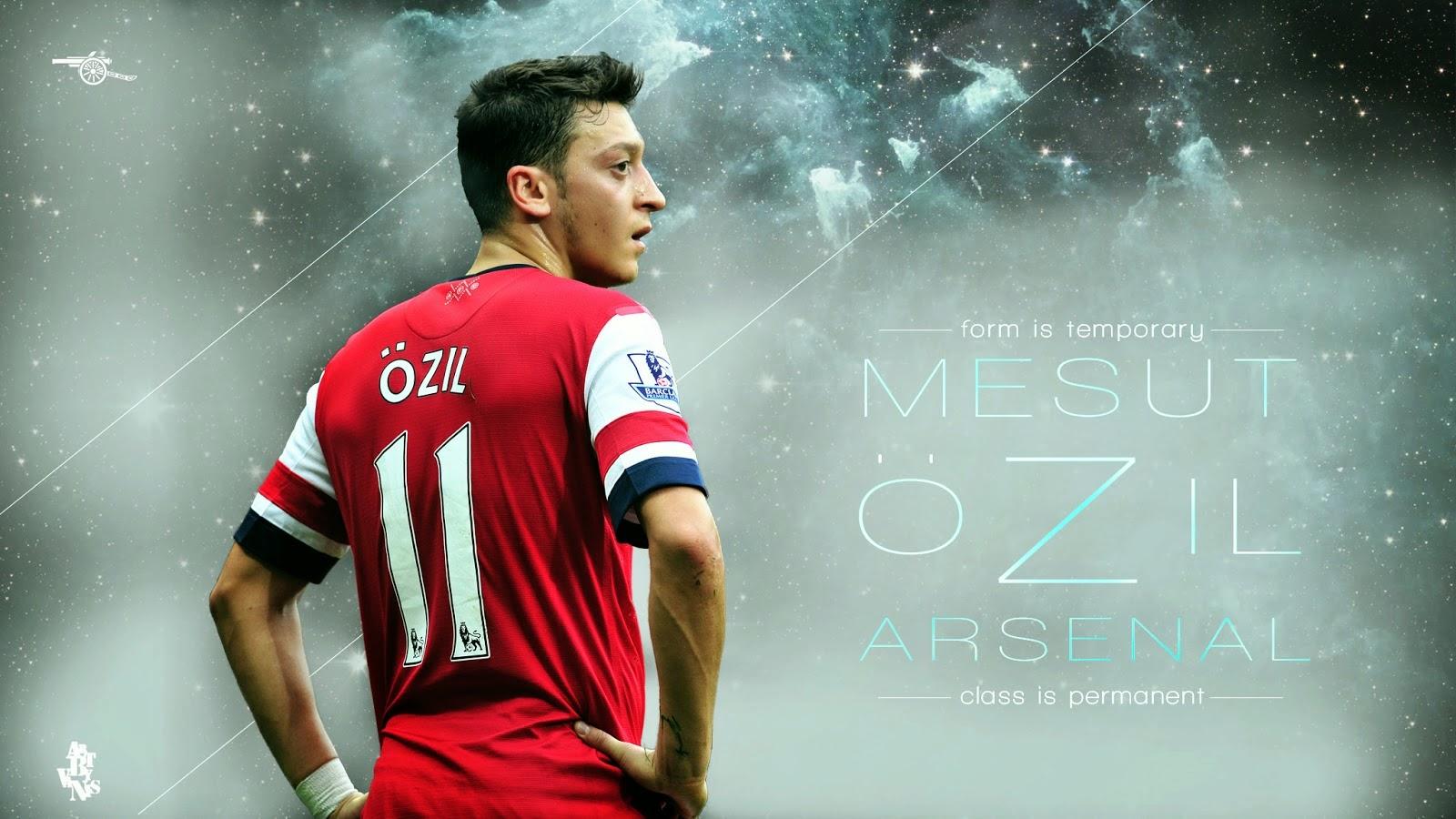 Words Celebrities Wallpapers: Mesut Ozil Latest HD
