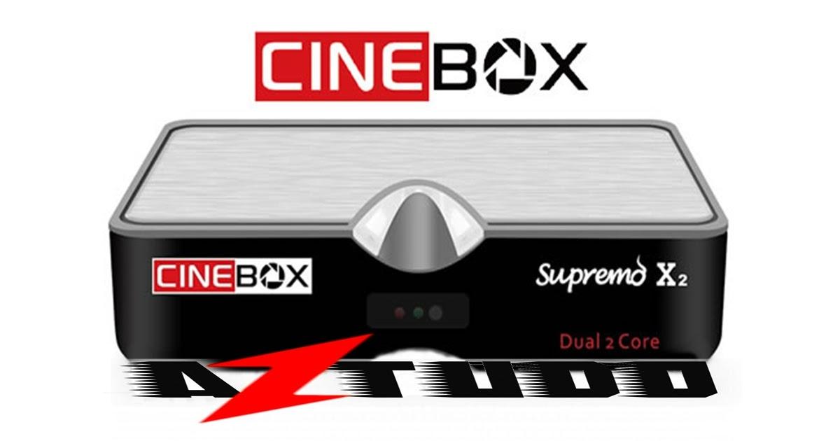 Resultado de imagem para CINEBOX SUPREMO X2    AZTUDO