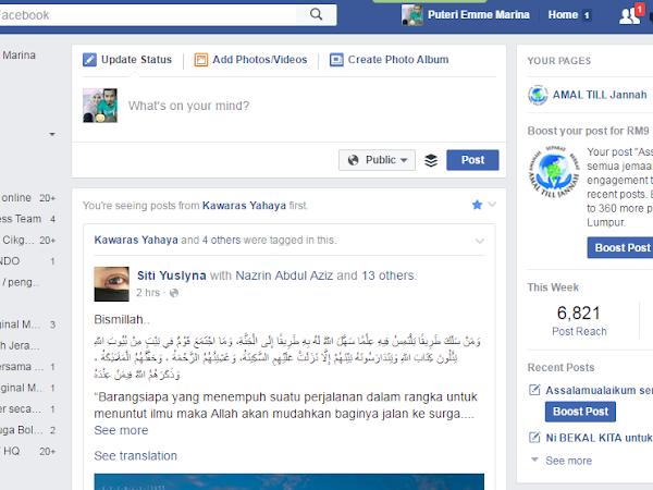 Tutorial Langkah Demi Langkah Bina Facebook Fanpage