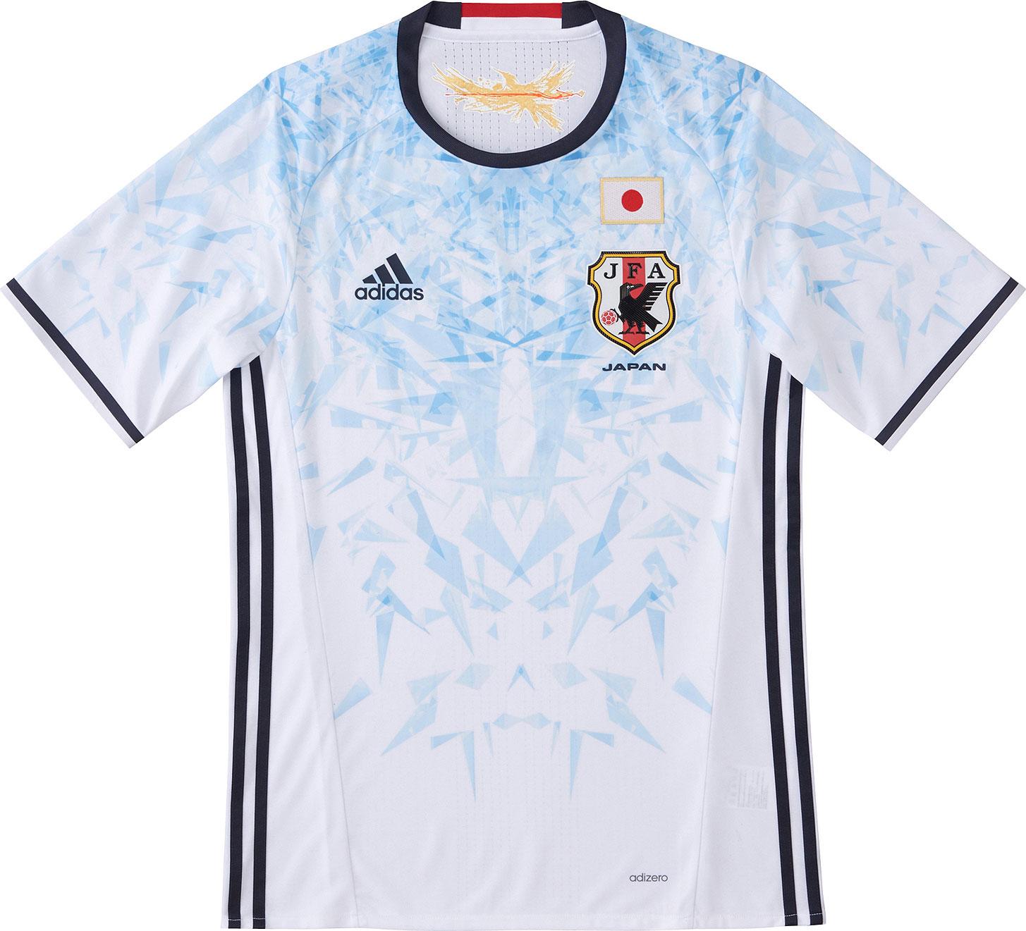 3d17e37c41ab4 Adidas Japan 2016 Home and Away Jerseys