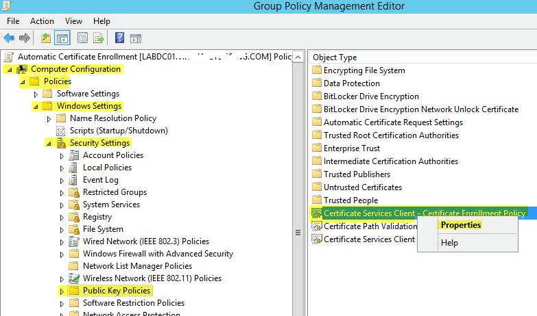 How To Deploy Active Directory Certificate Services on