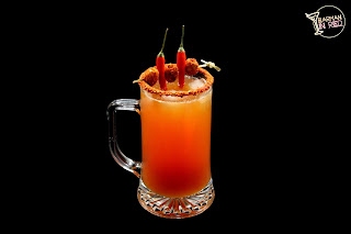 Michelada Michoacan Barman in Red