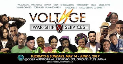 "Tope Alabi ""War-ships"" at COZA Like Never Before"