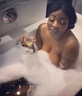 Actress Anita Joseph Shares Naughty Clip Of Herself In A Bathtub With A Man (Video)